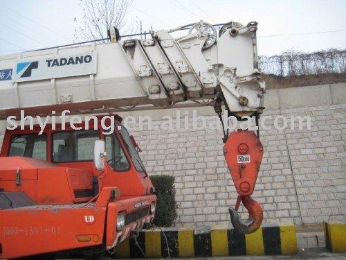ALL TERRAIN MOBILE TRUCK CRANES (TADANO