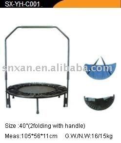 Folding trampoline