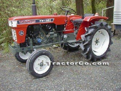 Yanmar 18HP 4x2 Tractors