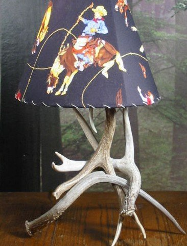 Antler Lamps for your rustic and log cab