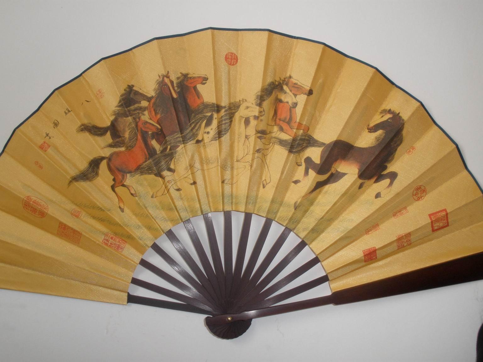 Tai Chi Fan Taiji Kung Fu Fan Wushu Fan Shan Wu