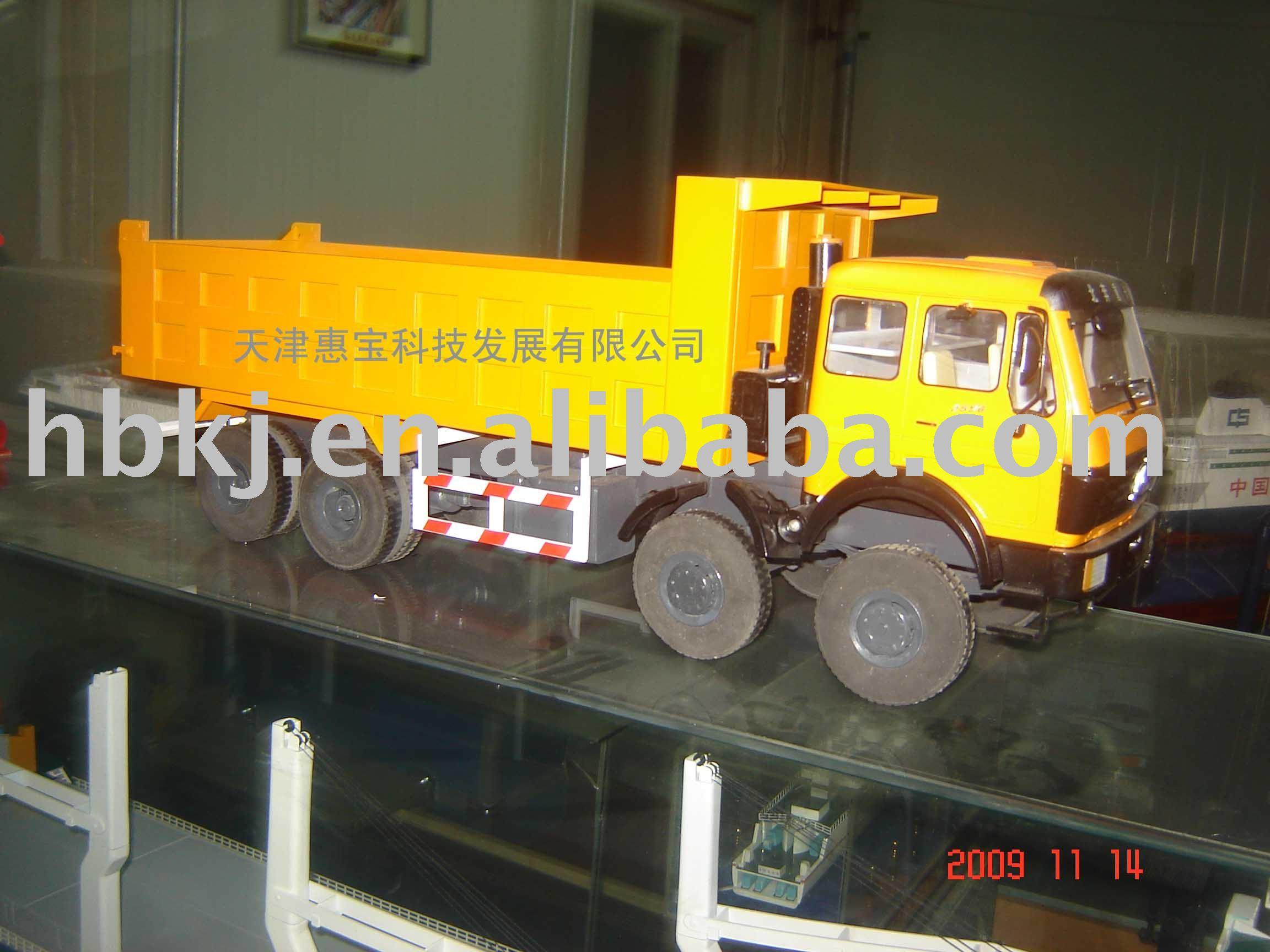 dump model truck