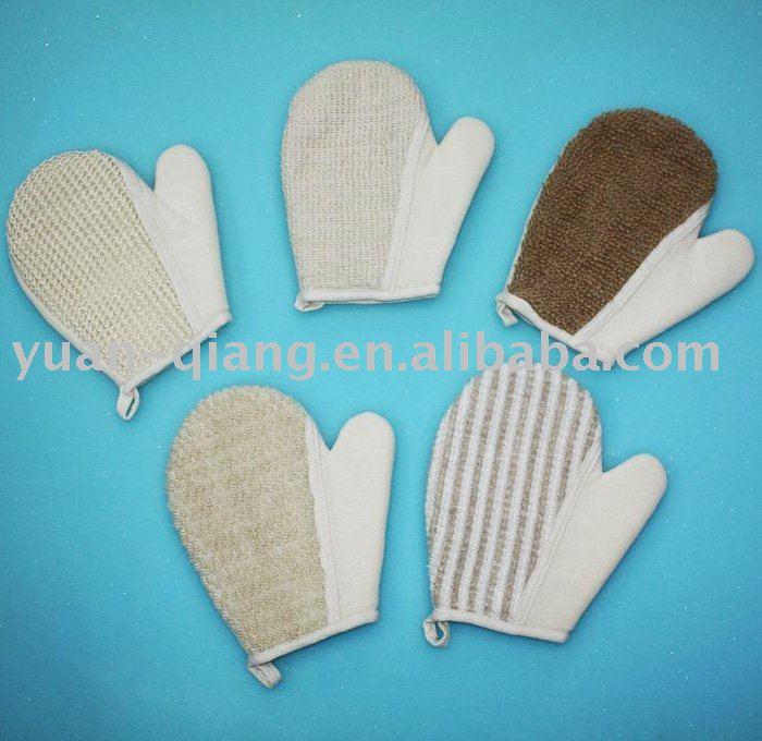 Chiot et pellicules Sisal_glove
