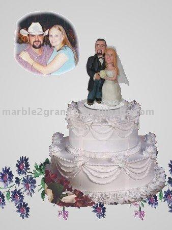 Custom Wedding Cake Toppers Cake Toppers GiftsClay Figurine