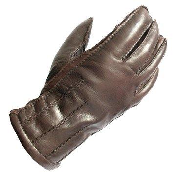 sheepskin leather glove