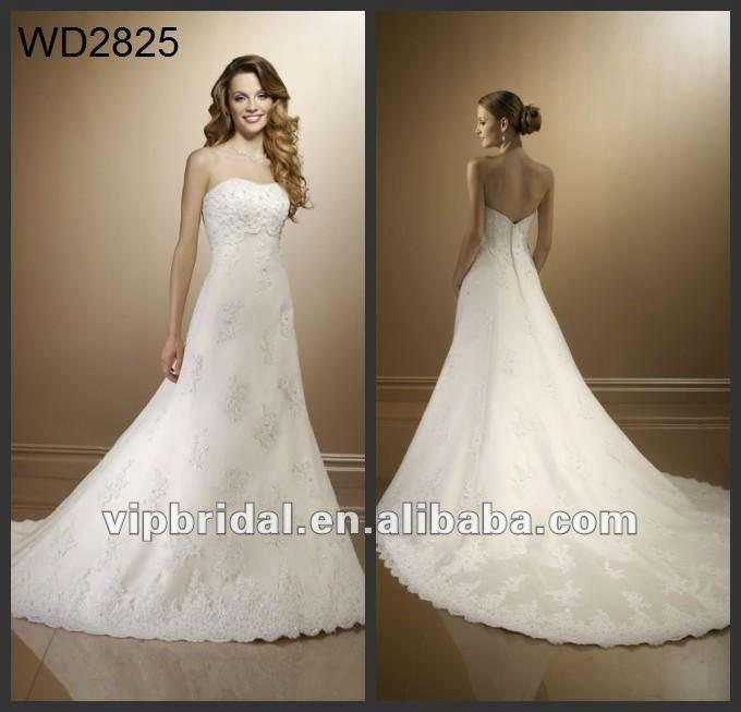 Best Cream Long Train Wedding Dress Top cream lace designer long