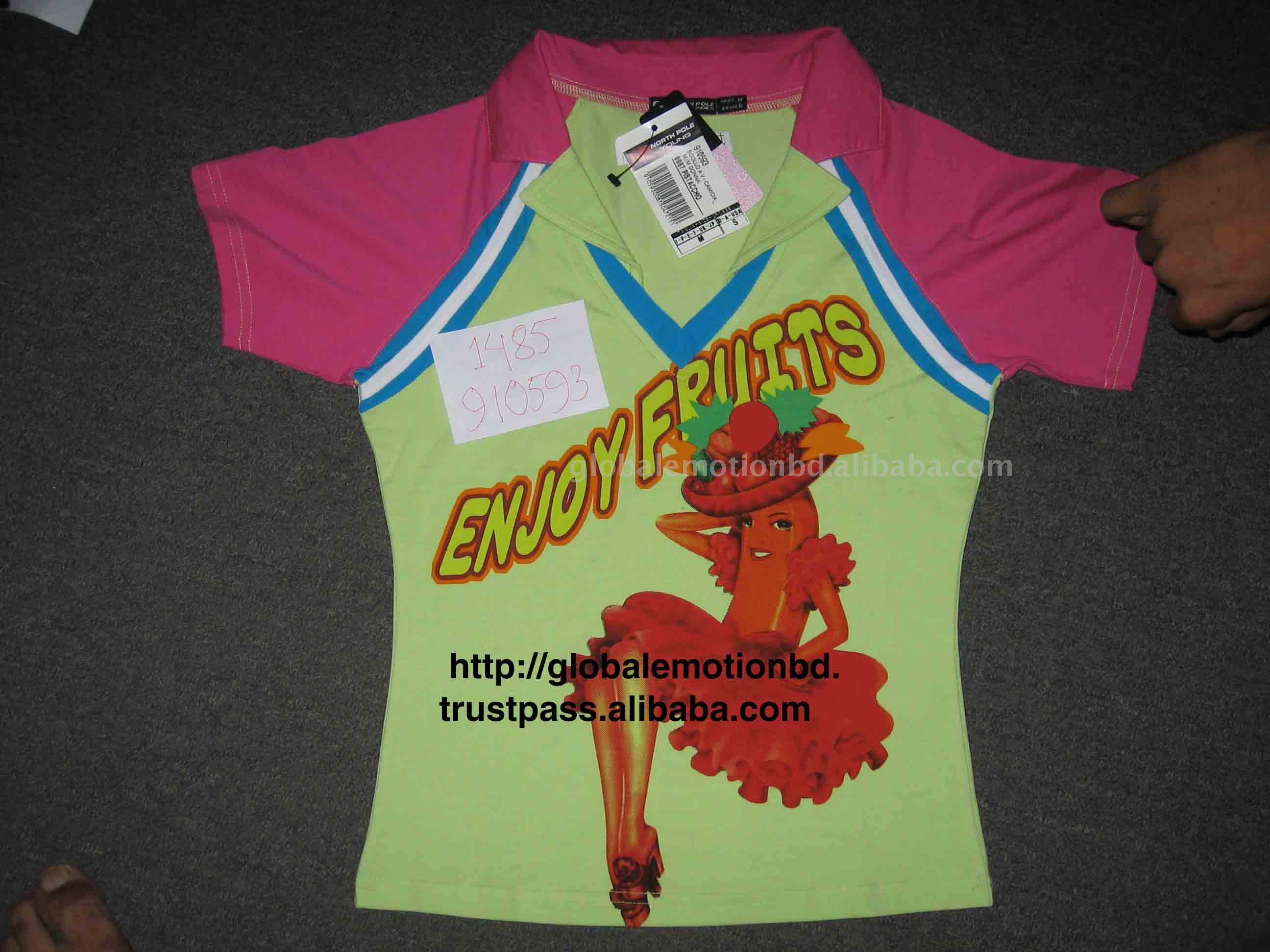 See larger image: Ladies Rugby Polo. Add to My Favorites