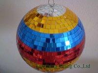 Color Mirror Ball Lighting