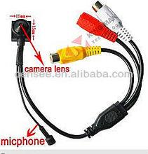 550TVL 1/3 Sony CCD mini hidden camera
