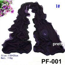 cotton scarf rose muffler