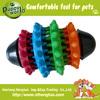 new design rubber pet toy for dog dental