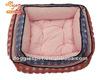 Square luxury soft plush pet dog bed