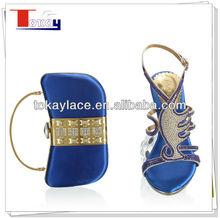 sexy royal blue italian wedding shoes woman 2013