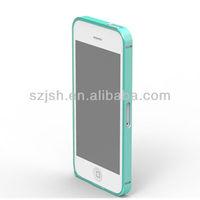 Aluminum metal bumper case for iphone 5, phone accessory