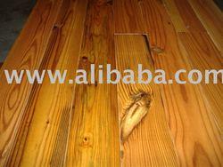 """Antique """"Pumpkin"""" Heart Pine Flooring"""
