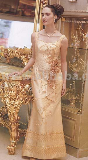 Thai style wedding dress buy wedding dress product on for Thai style wedding dress