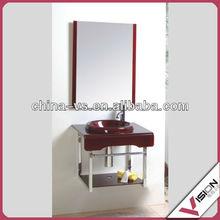 glass bathroom vanity,glass lavatory furniture
