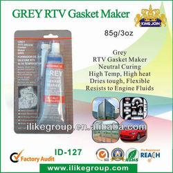 Gray High temperature rtv sealant (SGS,REACH,certificate)