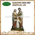 Personalizado artesanías religiosas resina estatua de santo, resina de la sagrada familia
