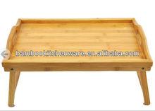 Bamboo Folding Bed Tray