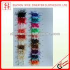 feather slub yarn 100% nylon stock lot yarn