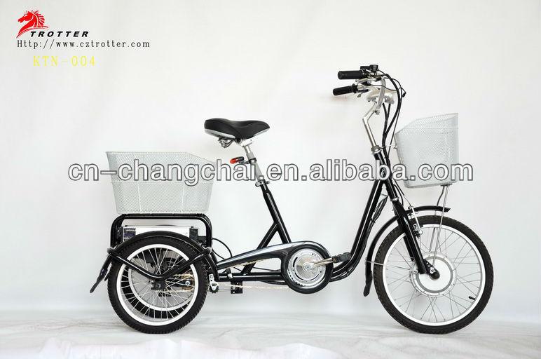 three wheel electric vehicle 36V 250W