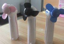 plastic metal blade mist fan spray bottle fan