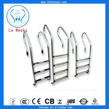 pool ladder for swimming pools,swim spa ladder,stainless steel tubular handrail