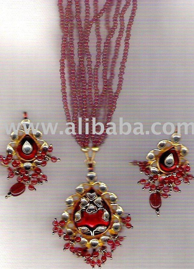 Indian Kundan Jewellery,Designer Pearl Jewellery,Victorian