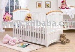 Barcelona Baby Nursery Crib / Cot Bed