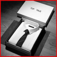 Custom white garment T-shirt packaging gift box