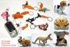 3D Leather Mobile Holder, Keyring Holder