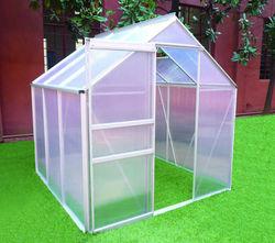 6x6ft strong frame aluminum green house for home&garden