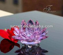 Lotus Crystal for Wedding Decoration/Aniversary Souvenirs