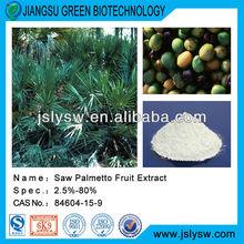 Herbal Saw palmetto extract/serenoa repens extract/fatty acid