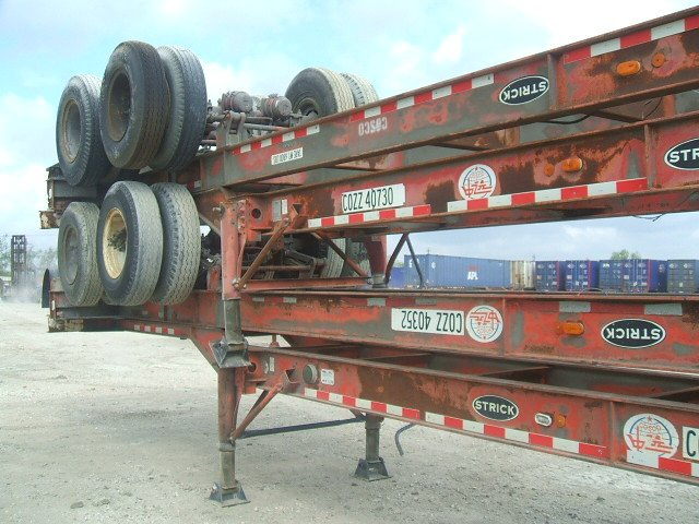 40' Chassis Trailers