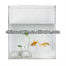 transparent mini acrylic fish tank ornament wholesale