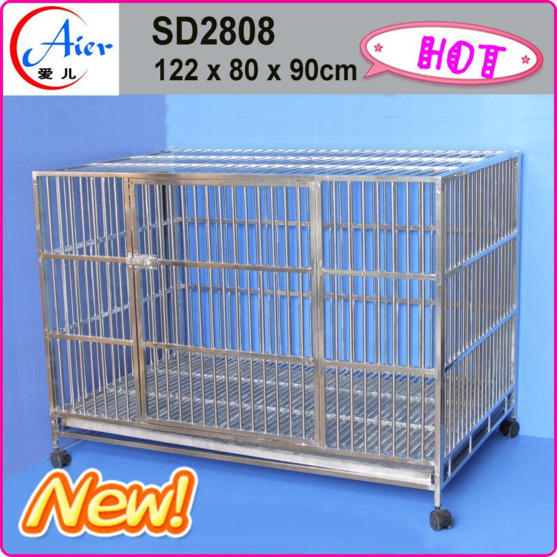 Pet cage galvanized steel dog kennel