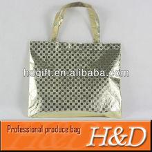 custom laser film tote bag shopping bag wholesale