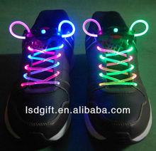 LED cheap shoe laces,top flashing shoe laces,glow shoe laces LSD-SL-095