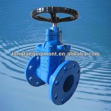 cast iron non rising stem din 3352 gate valves