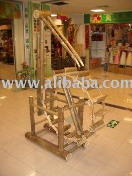 Bamboo Waterwheel / Water Wagon / Water Mill
