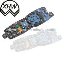 silicone rubber keypad transparent/silicone rubber keypad button/silicon rubber keypad making