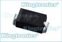 поверхностного выпрямителя m7 ( 1n4007 поверхностного )-детектор ...