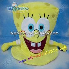 sponge bob plush bag