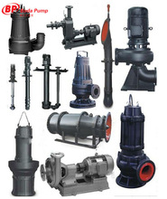 Submersible Sewage slurry pump pumps for water