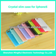 High quality hard Crystal case for Iphone5