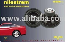 Nilestrem High Quality Profesional Car Subwoofer