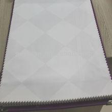 100% cotton/TC/CVC plain/sateen stripe/jacquard/satin/dobby/check hotel bedding set fabric