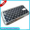 Aluminum crystal design glitter case for samsung galaxy s3 s4 i9500